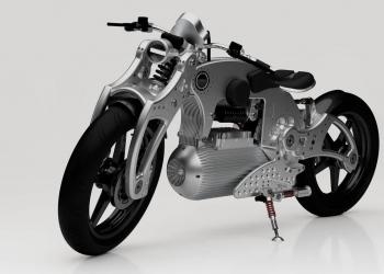Motocicleta eléctrica Hades 1 Pure
