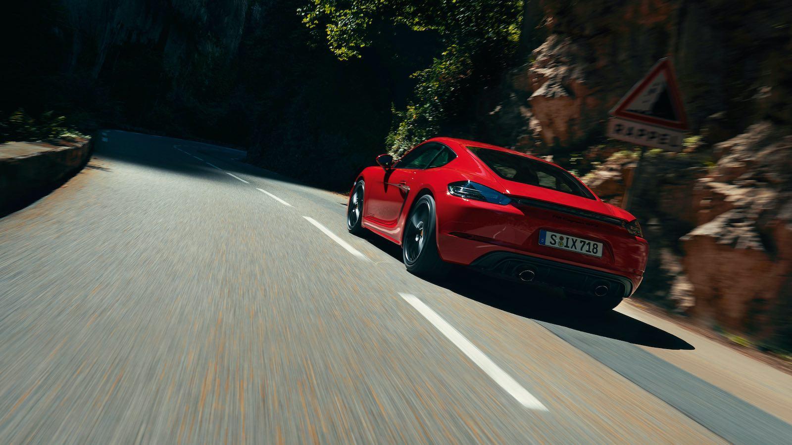 Nuevos modelos 718 GTS 4.0: puro placer de conducir