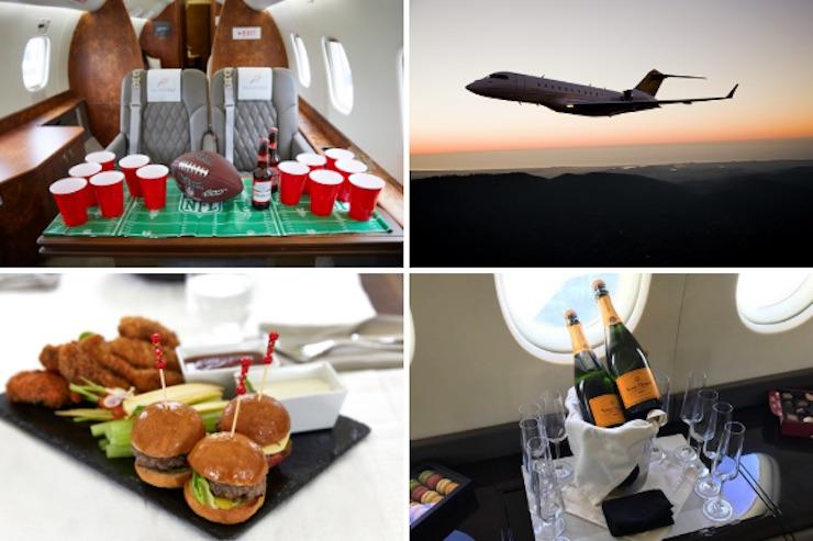 PrivateFly: Experiencia de lujo a bordo de un jet privado para ver el Super Bowl 2020