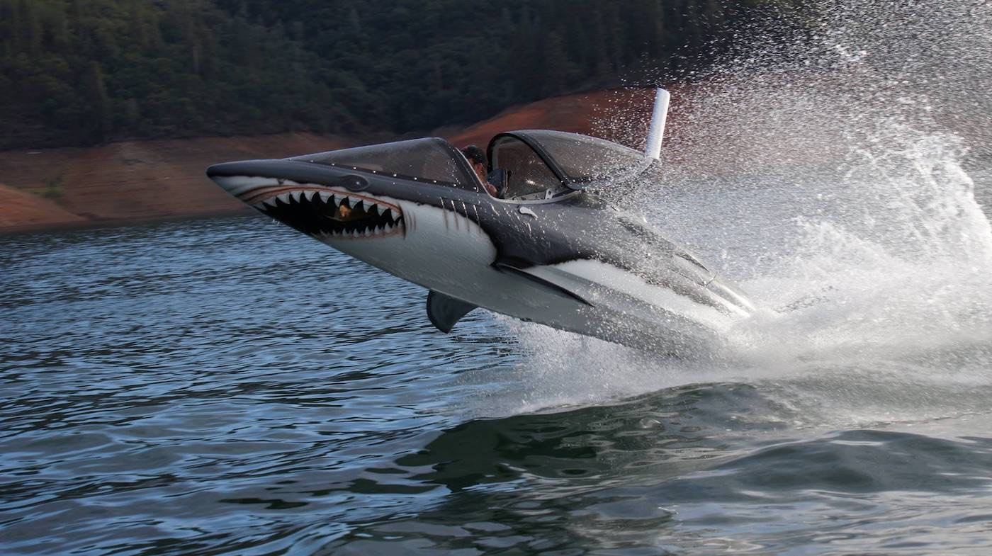 Seabreacher: El nuevo juguete acuático para que los millonarios se diviertan en el agua
