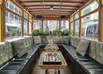 Explore Hong Kong a bordo de un lujoso y temático tranvía