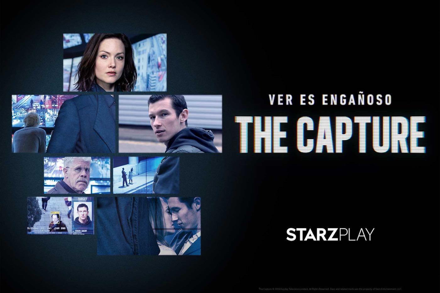 """""""The Capture"""" disponible ya en STARZPLAY"""