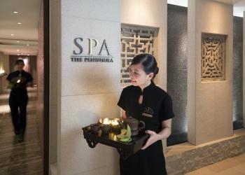 The Peninsula Spa dentro de The Peninsula Hong Kong