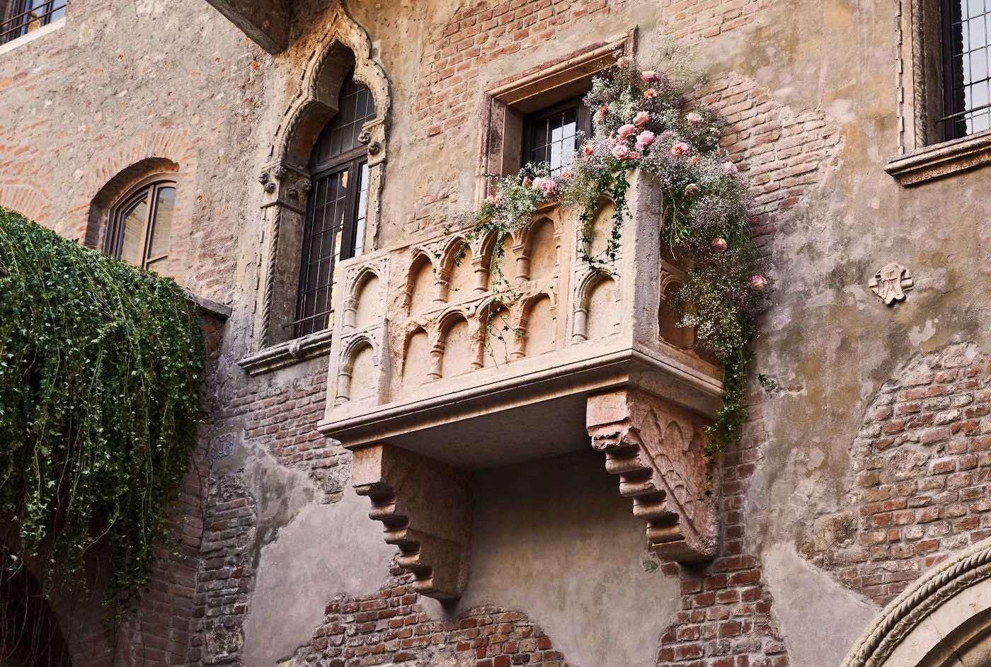 Gánate una velada romántica en la Casa de Julieta en Verona, el Día de San Valentín