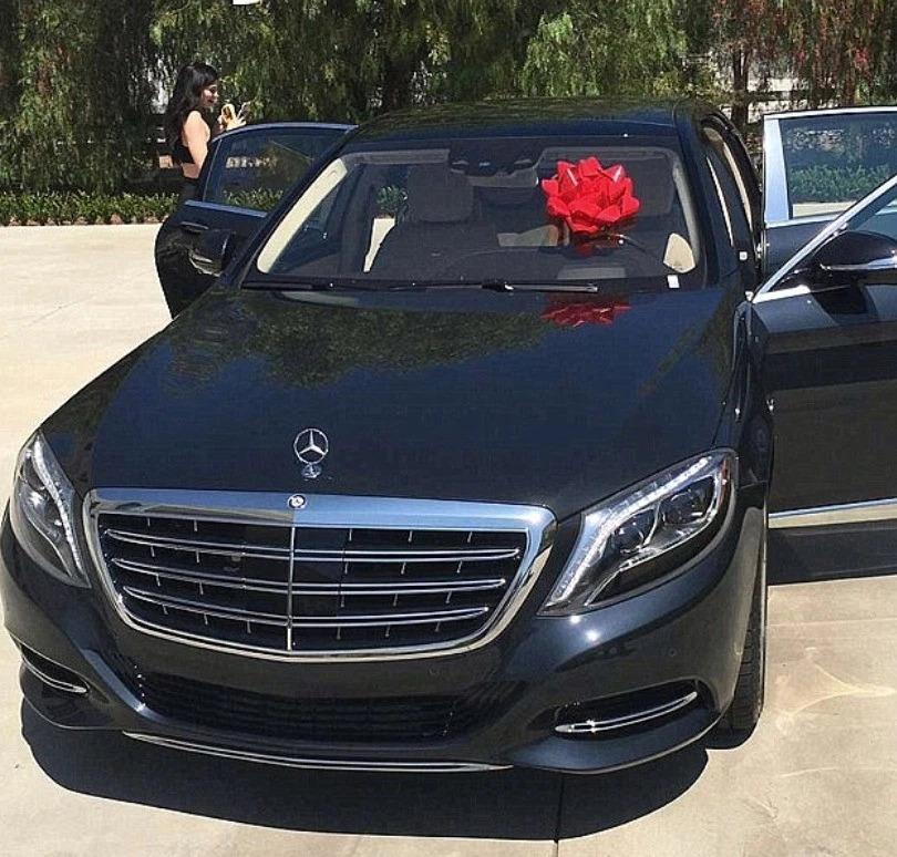 Mercedes-Maybach de Kylie Jenner