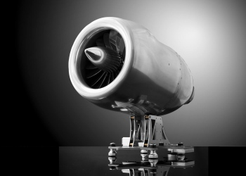 Aviatore Veloce Turbojet: Una máquina de café expreso que rinde homenaje a la era de los mega jets