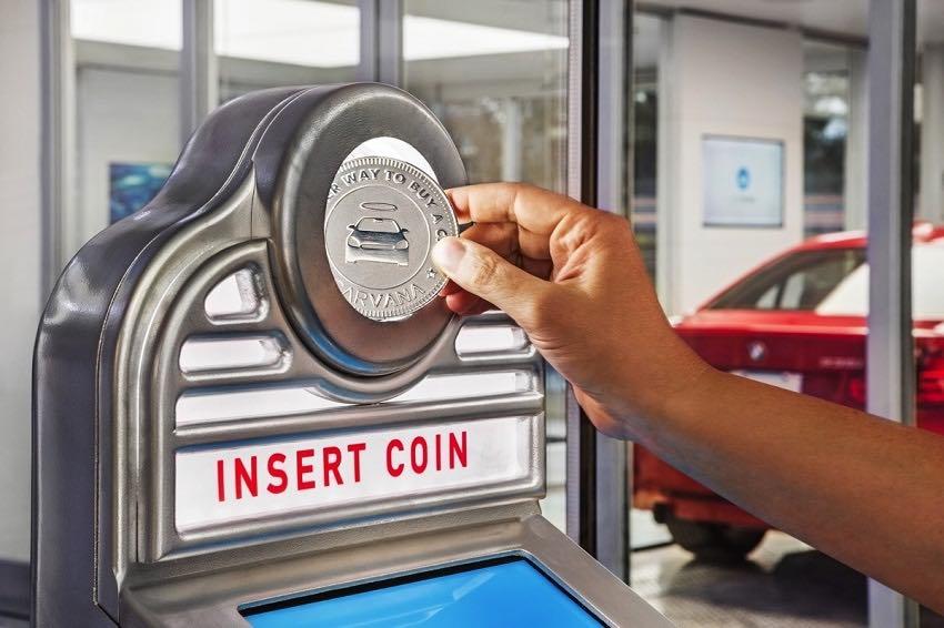 Máquina expendedora de automóviles de Carvana