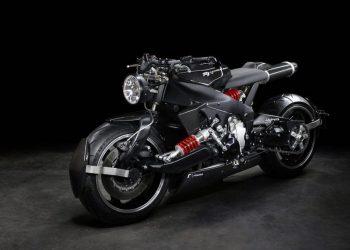 """De vuelta al futuro con esta súper poderosa motocicleta """"Yamaha YZF R1"""" por Lazareth"""