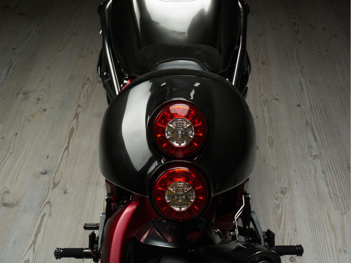 Bestial motocicleta de Officine GP Design