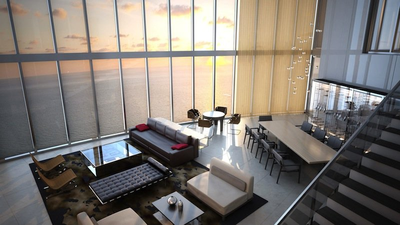Lujosa Porsche Design Tower en Sunny Isles Beach, Florida