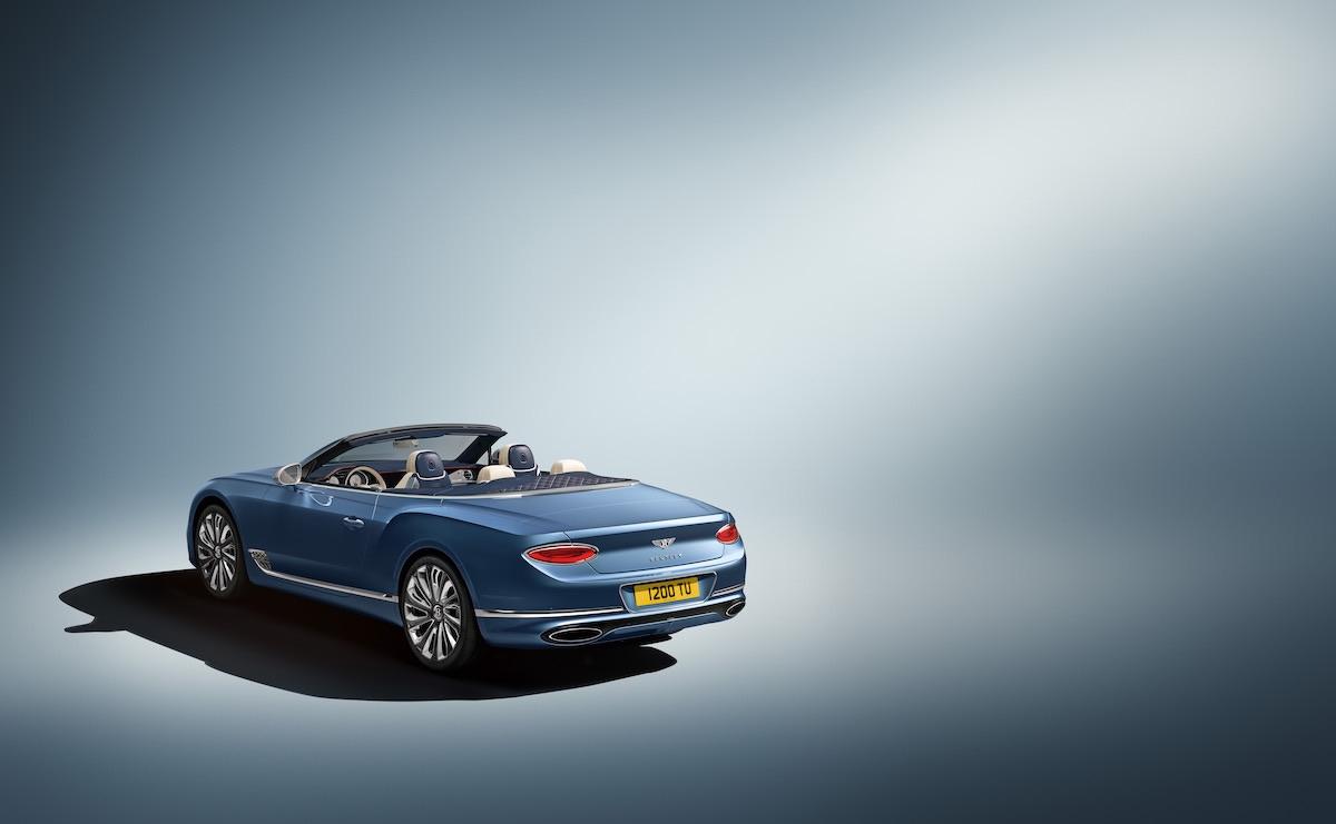 El nuevo Bentley Continental GT Mulliner Convertible: La defenición de lujo al aire libre