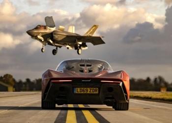 Carrera de resistencia: McLaren Speedtail vs F-35 Lightning II