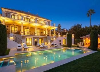 Ultra lujosa villa ubicada en uno de los enclaves más codiciados de Sierra Blanca, Marbella.