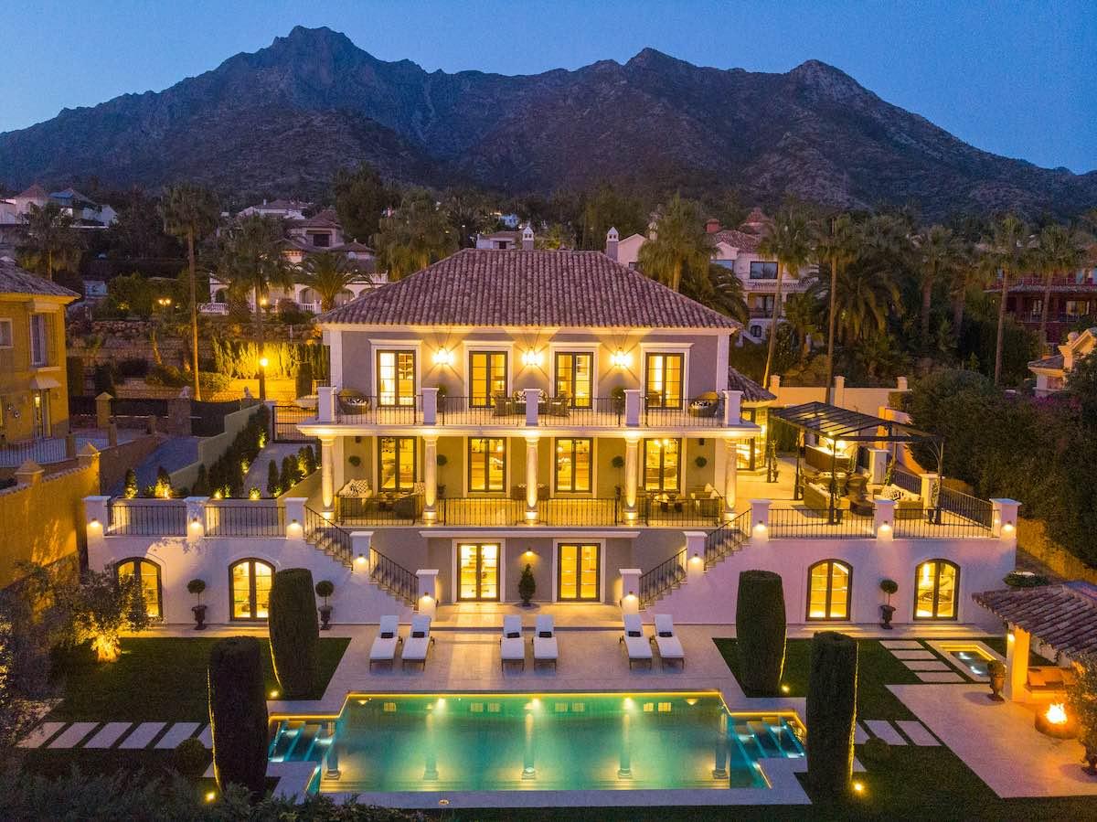 Casa Hedera: Ultra lujosa villa ubicada en uno de los enclaves más codiciados de Sierra Blanca, Marbella.