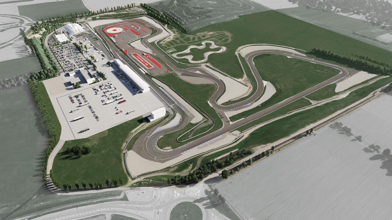 Centro de Experiencias Porsche (CEP) Franciacorta
