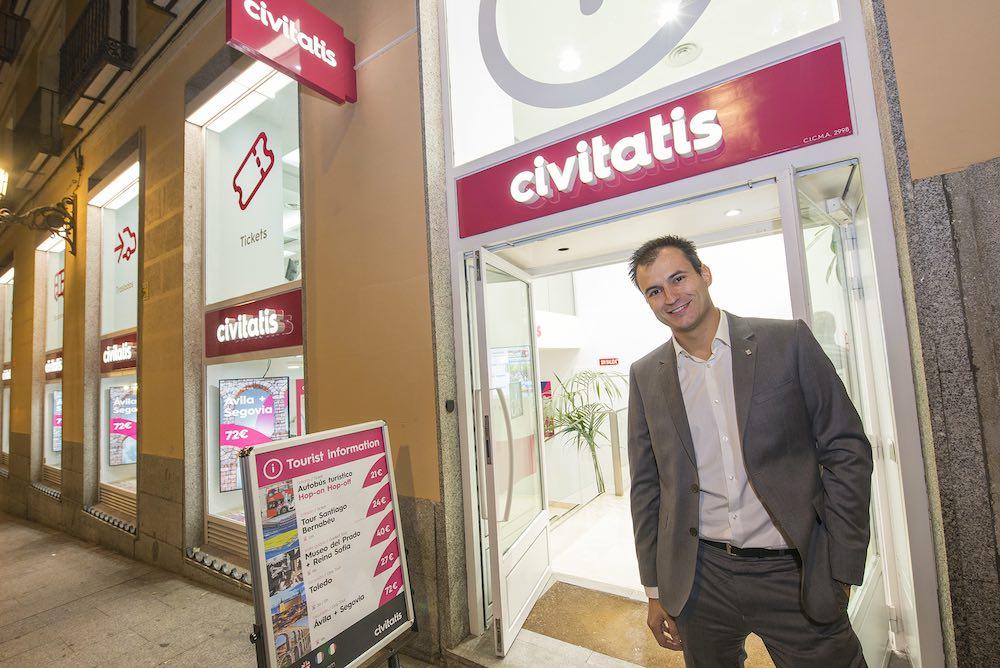 Alberto Gutiérrez, CEO de Civitatis