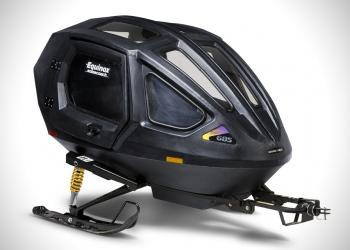 Equinox Snowcoach: Engánchalo a tú motonieve para el paseo más divertido en la nieve