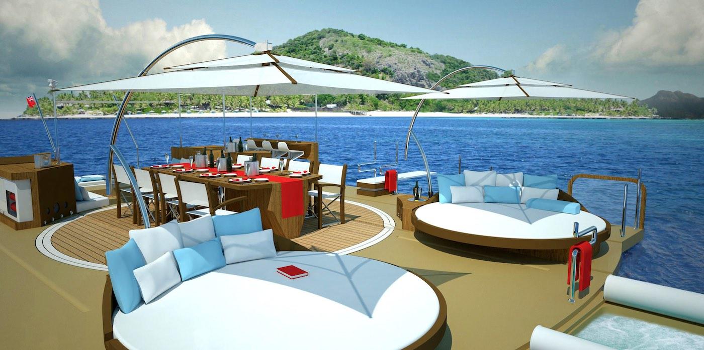 Recreational Island por Henry Ward Design