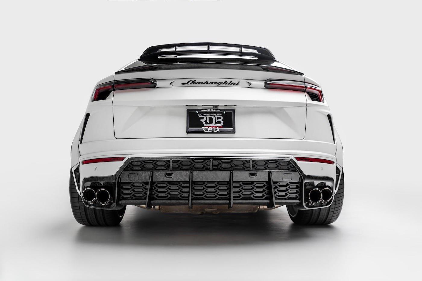 1016 Industries presenta este bestial Lamborghini Urus Widebody con 840 HP.