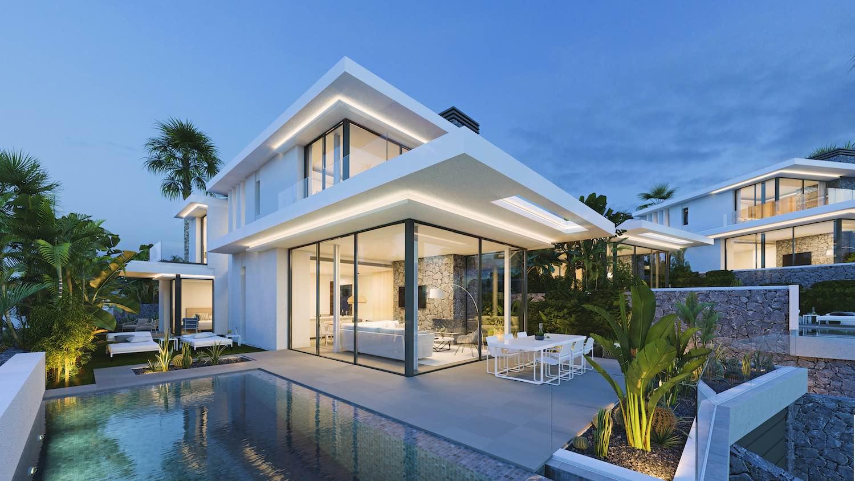Las Atalayas de Abama: Corona-Amaral Arquitectos ultima en Abama un impresionante proyecto de 10 villas de lujo