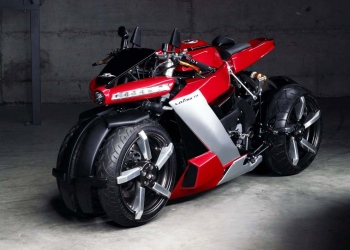 Mega potente motocicleta de 4 ruedas alimentada por un motor Yamaha R1