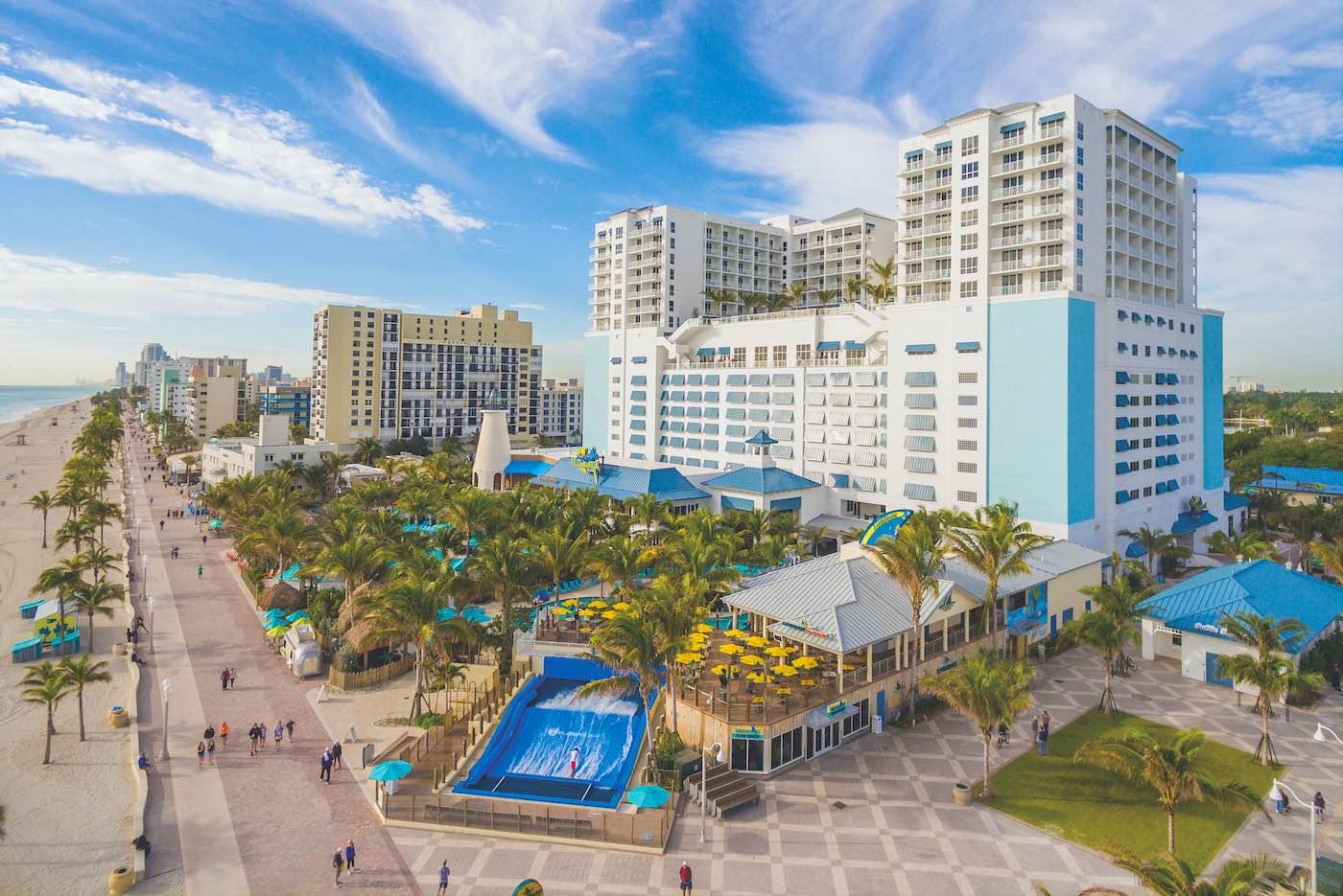 Margaritaville Hollywood Beach Resort ofrece la excusa perfecta para escapar el frío