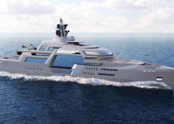 Theodoros Fotiadis revela el colosal concepto de súperyate Stormbreaker