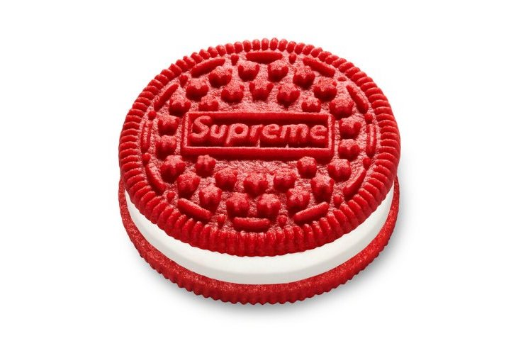 "Galletas rojas ""Supreme"" Oreo"