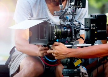 Equipo de filmación de películas