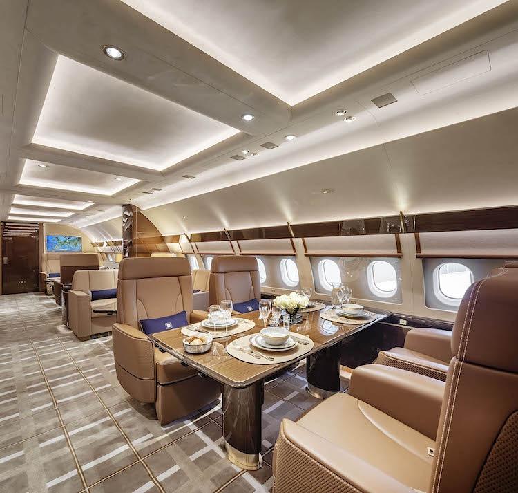 Airbus ACJ320neo: Este jet privado de $110 millones parece más a un opulento penthouse que a un avión