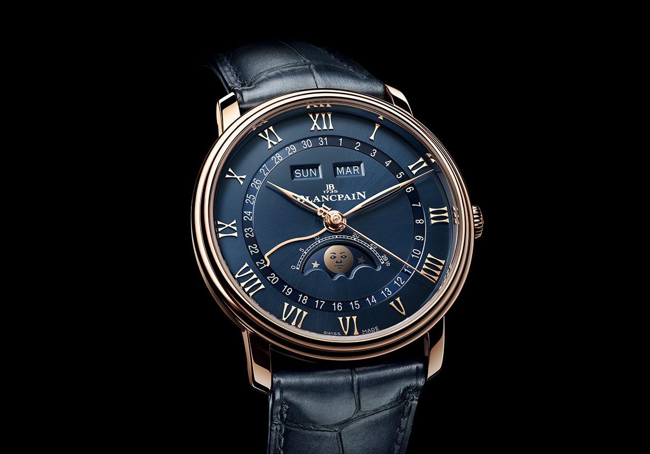 Reloj Blancpain Villeret Quantième Complet