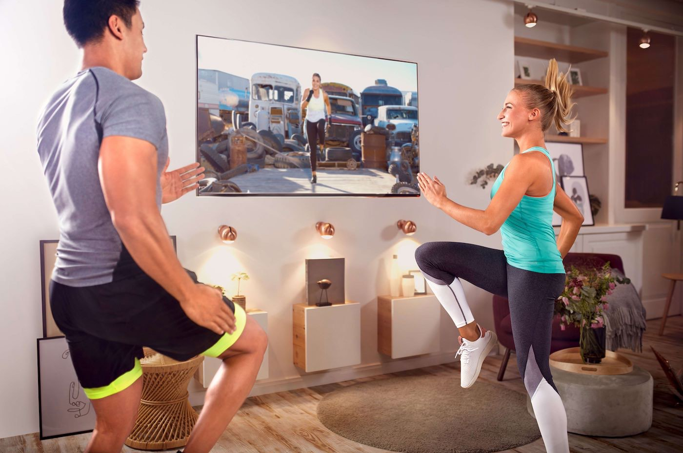 La plataforma virtual de fitness CYBEROBICS ahora de forma gratuita