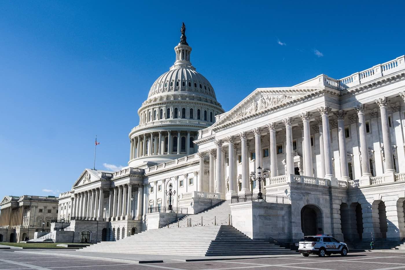 Capitolio de los Estados Unidos en Washington, DC