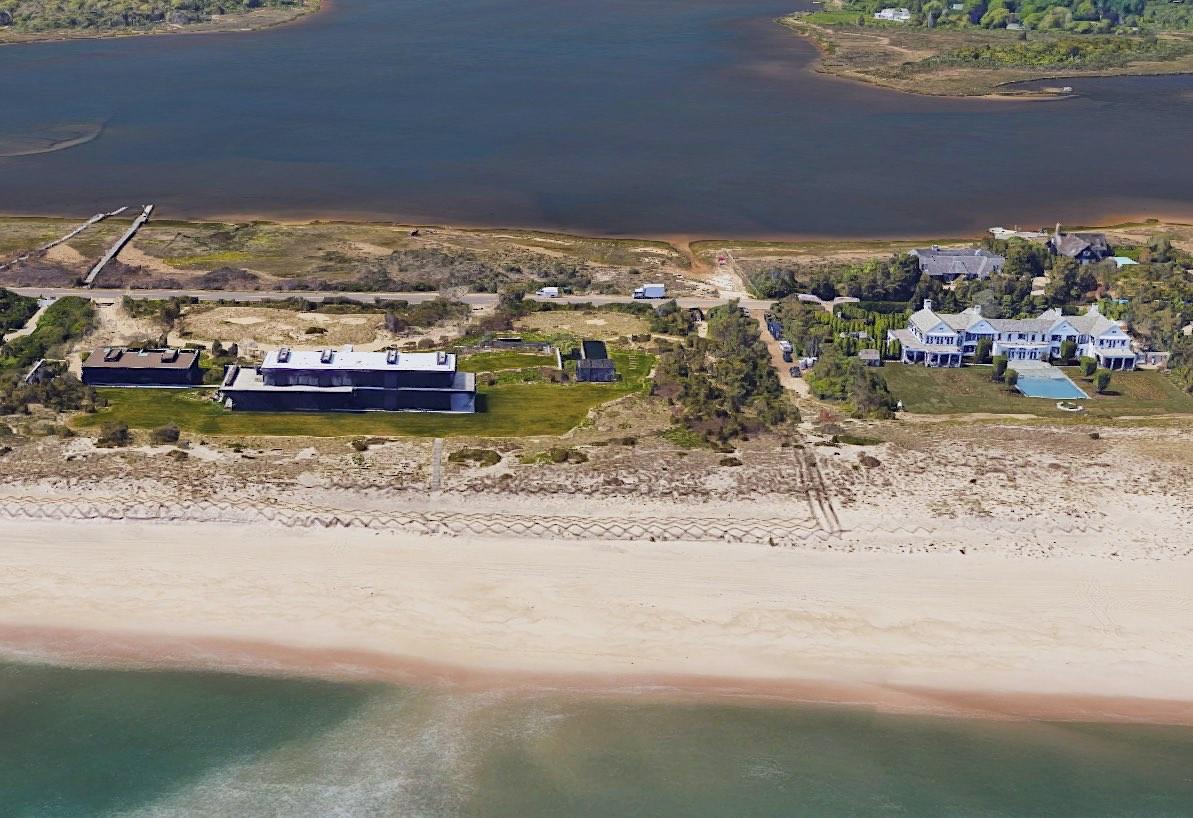 Dragon Head: La propiedad de Calvin Klein en los Hamptons.