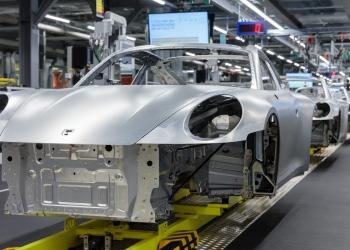 La planta principal de Porsche en Zuffenhausen