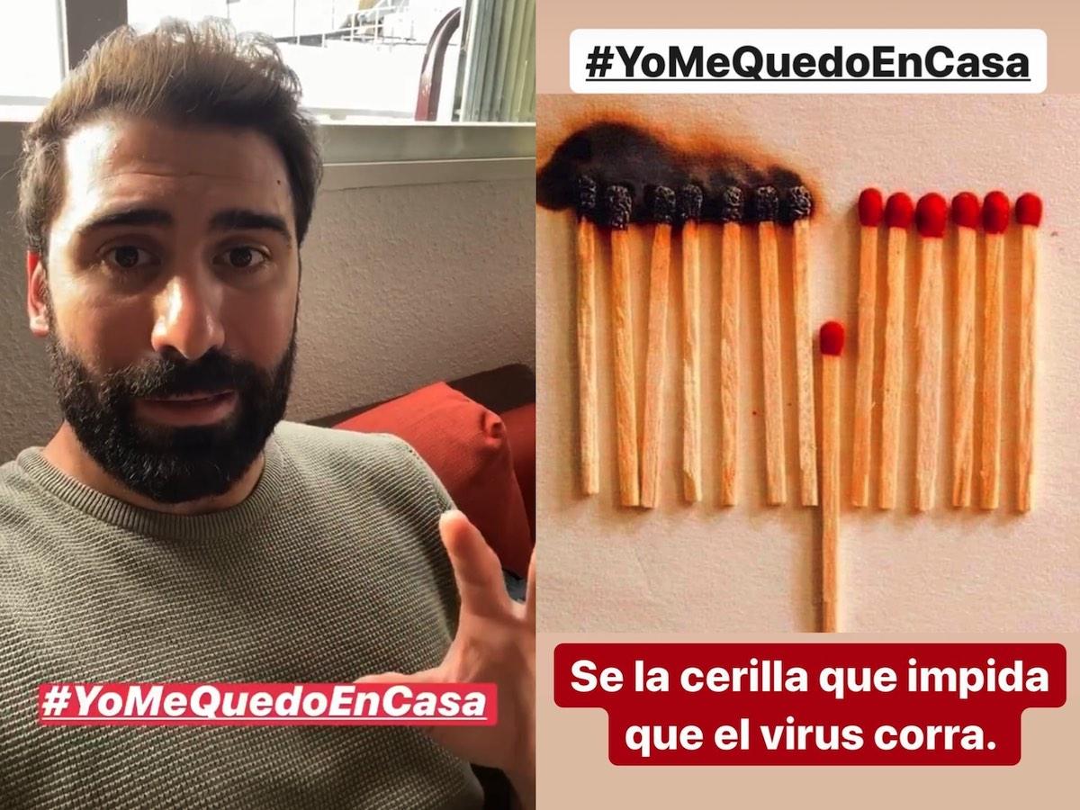 Jorge Cremades inicia #YoMeQuedoEnCasa, una campaña por redes sociales para concienciar sobre la situación por el COVID-19
