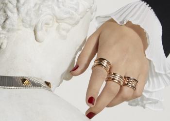 La nueva colección de joyas B. Zero1 Rock de Bulgari es unisex, vanguardista y súper genial