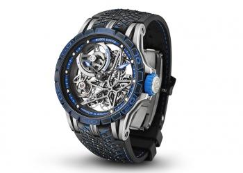 Roger Dubuis, y Pirelli, presentan el Excalibur Pirelli ICE ZERO 2 Spider America Edition