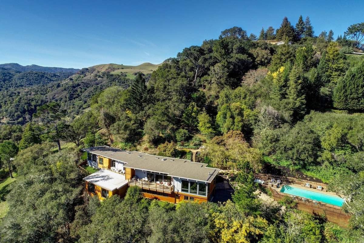 Esta mansión en Kentfield, California, con espectacular vista de la bahía de San Francisco puede ser tuya por $4,65 millones