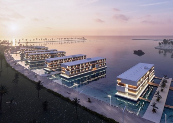 Durante la Copa Mundial FIFA 2022 en Catar, los fanáticos podrán alojarse en estos innovadores y espectaculares hoteles flotantes