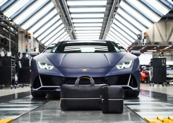 La nueva colección de artículos cuero y de viajes de Automobili Lamborghini & Principe.