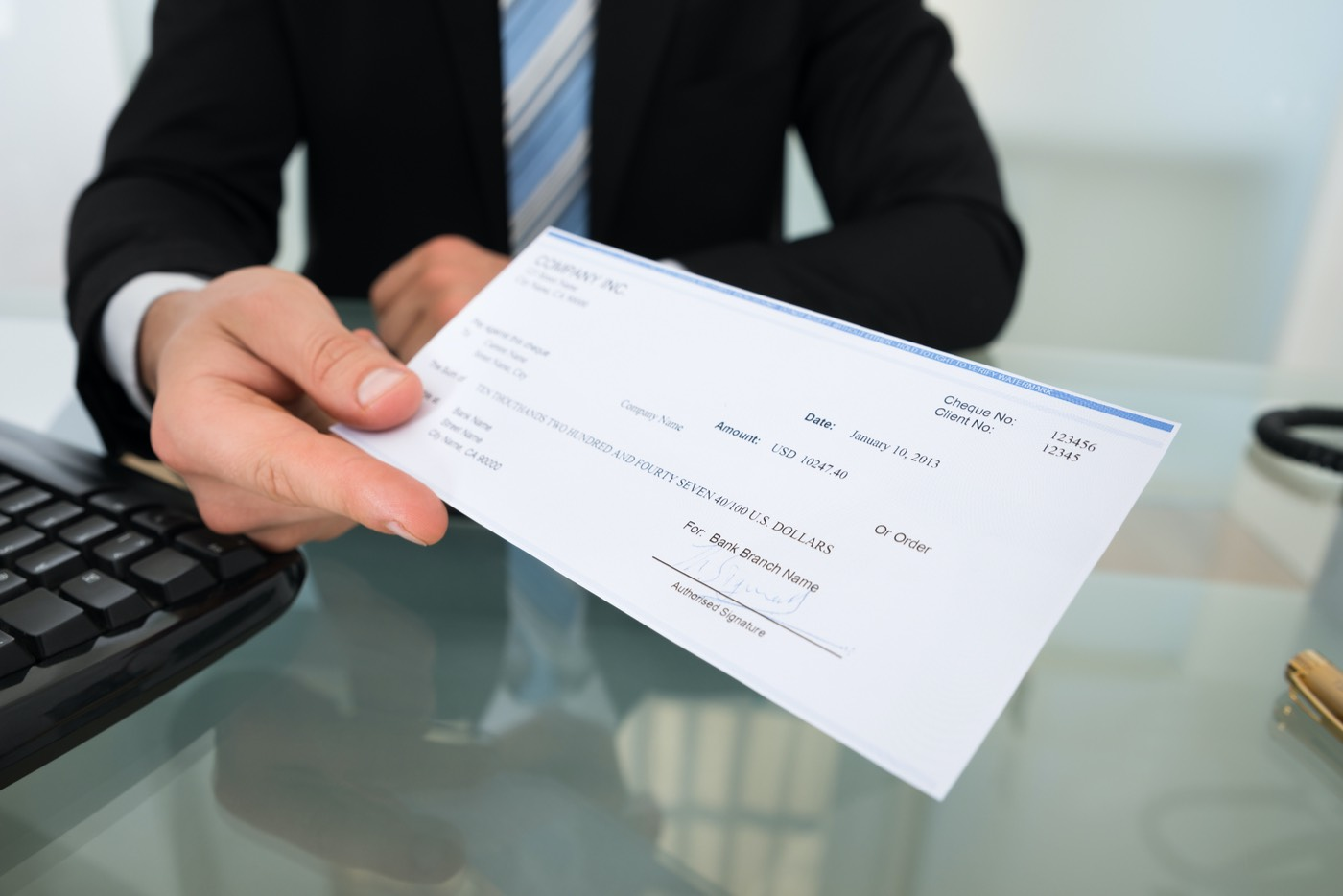 Los estadounidenses probablemente recibirán cheques de $1.000 o más.