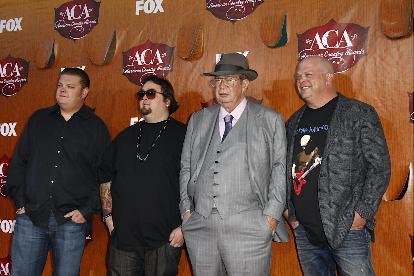 """El elenco de Pawn Stars (""""El Precio De La Historia"""") llega a los American Country Awards."""