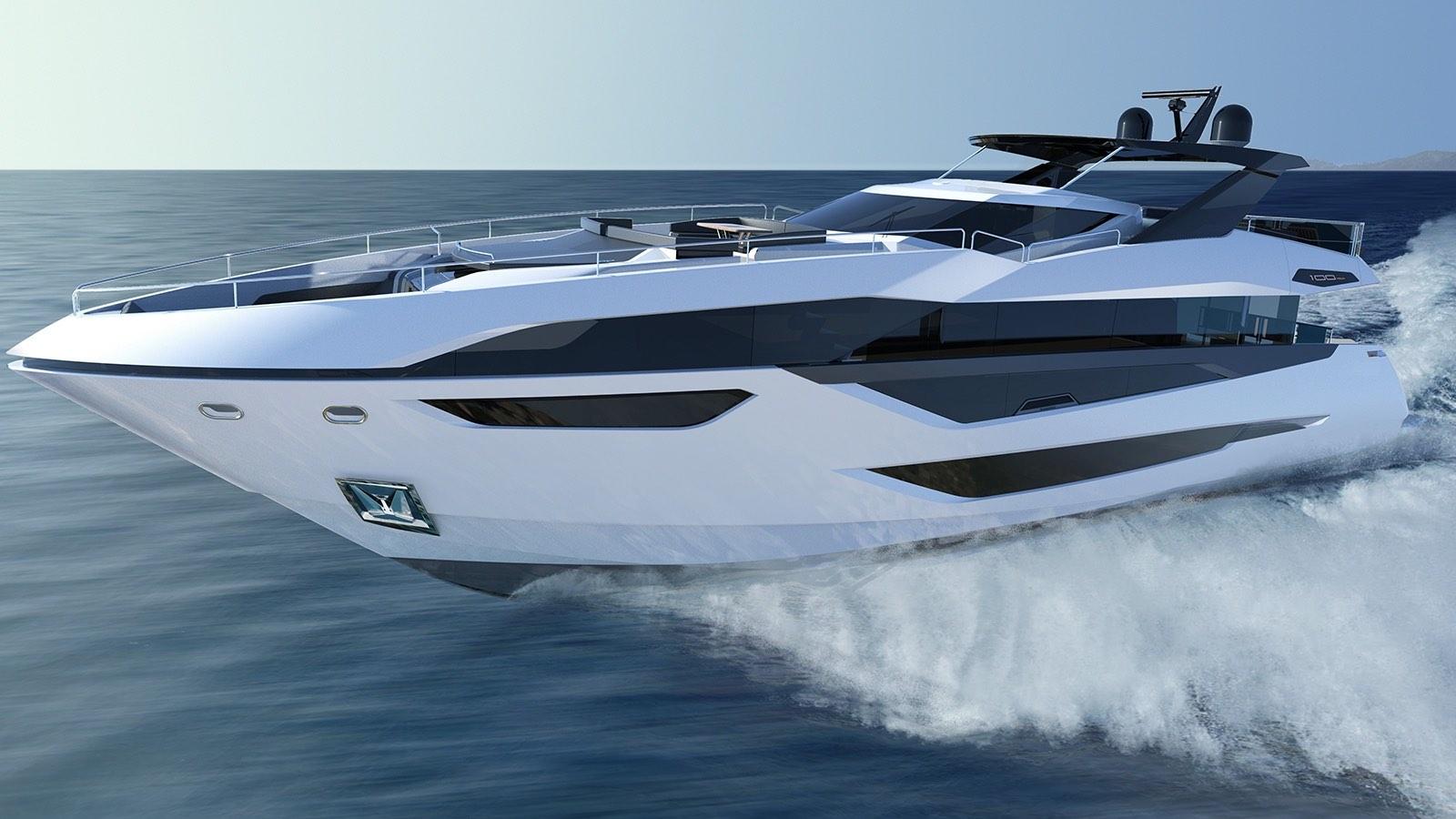 El yate Sunseeker 100 promete ser un espectáculo en el mar