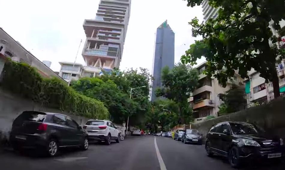Antilia en Mumbai, India