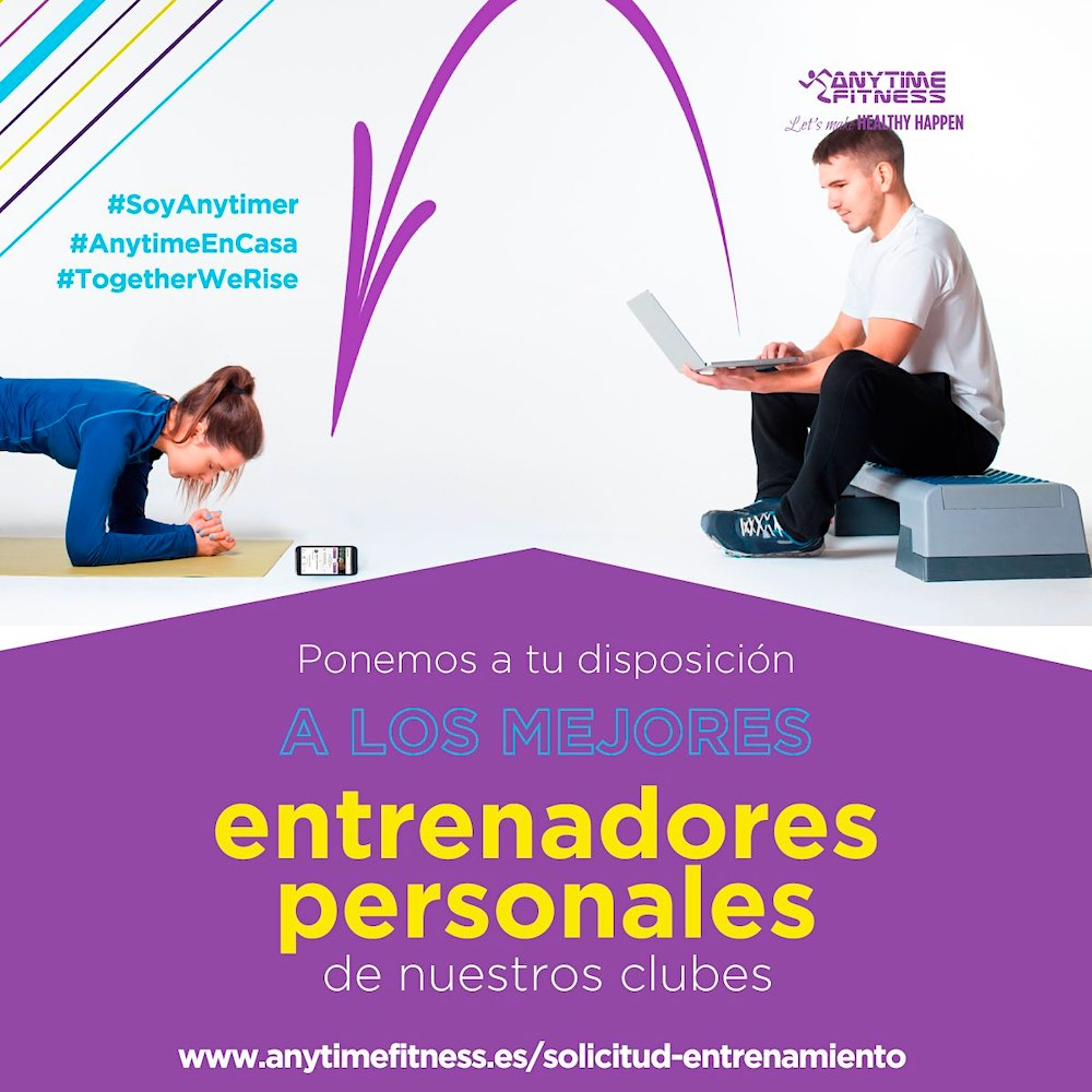 Anytime Fitness reinventa su 365 x 24 ¡Ahora es online!