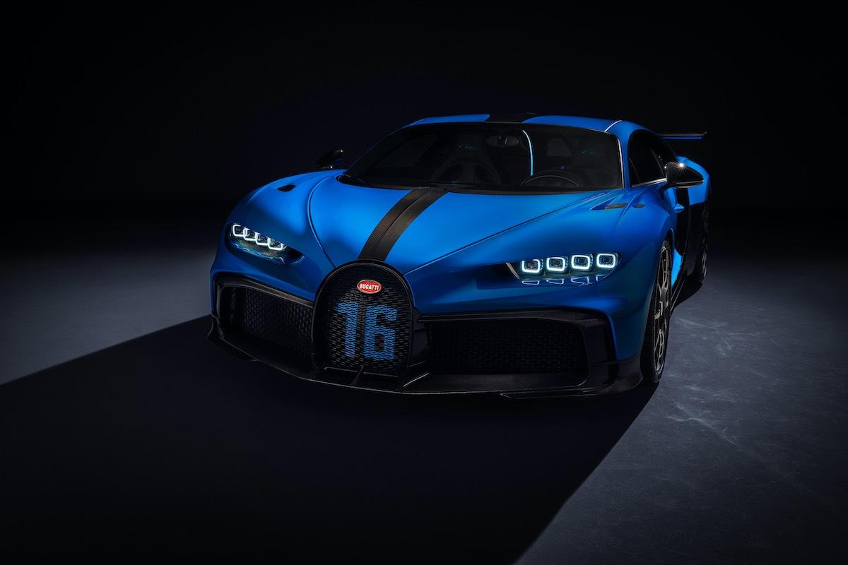 El Chiron Pur Sport es el Bugatti más ágil de los últimos tiempos