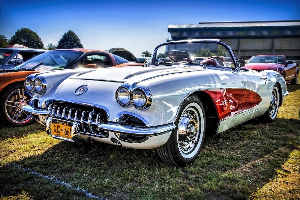 Los ricos y famosos le gustan coleccionar coches clásicos