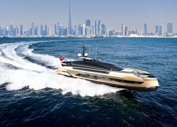 Dynamiq presenta su nuevo yate de 27 metros, totalmente de aluminio GTM 90 Klassen Edition