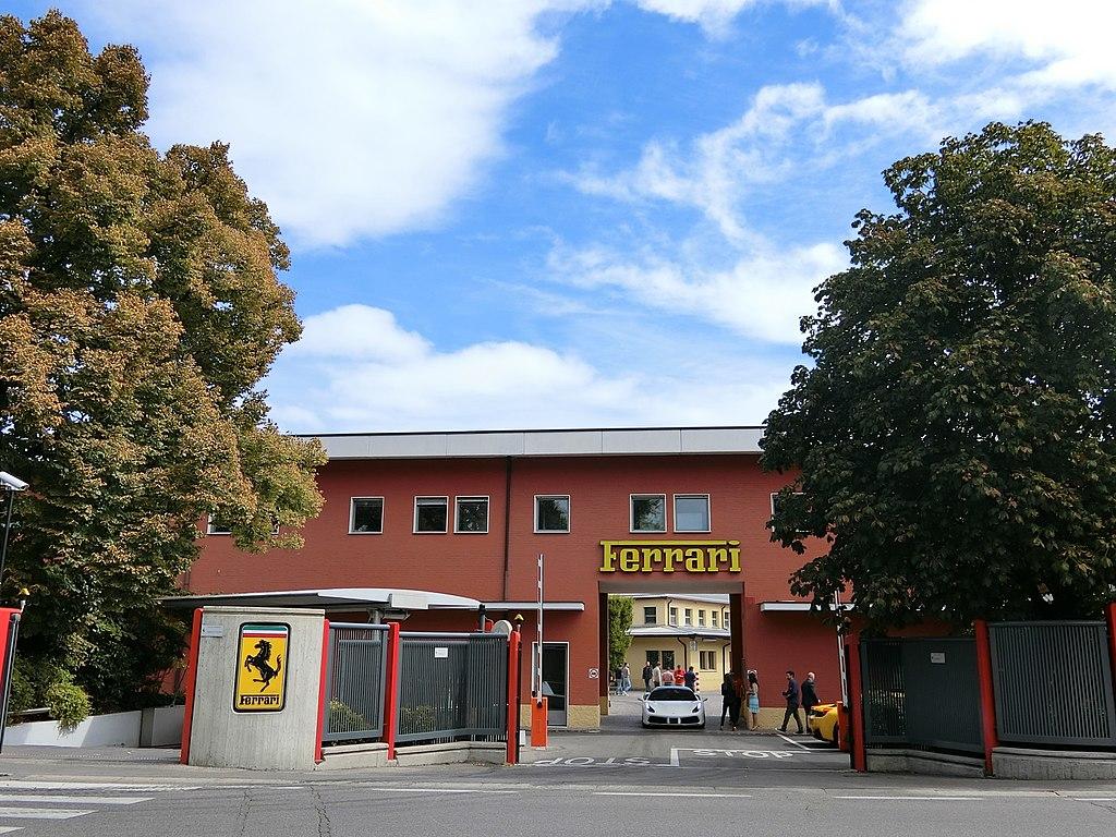 La fábrica de Ferrari en Maranello.